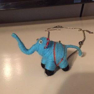 Super cute Elephant charm necklace